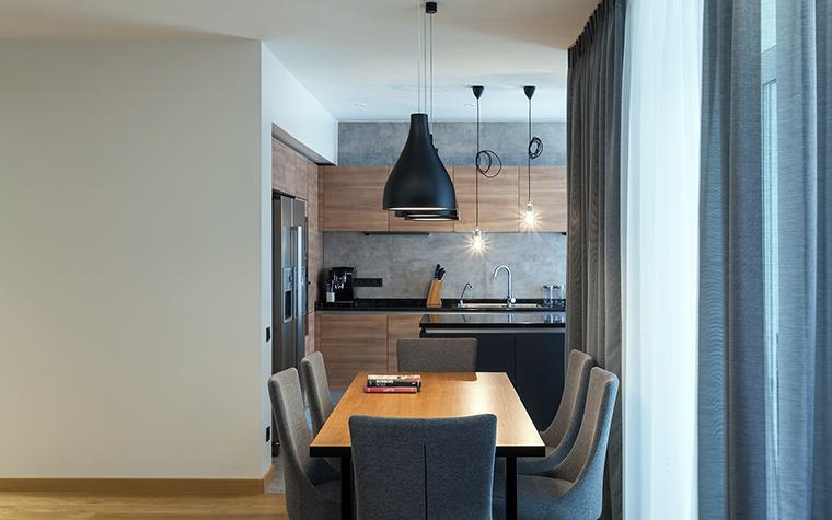 Квартира. столовая из проекта , фото №58503
