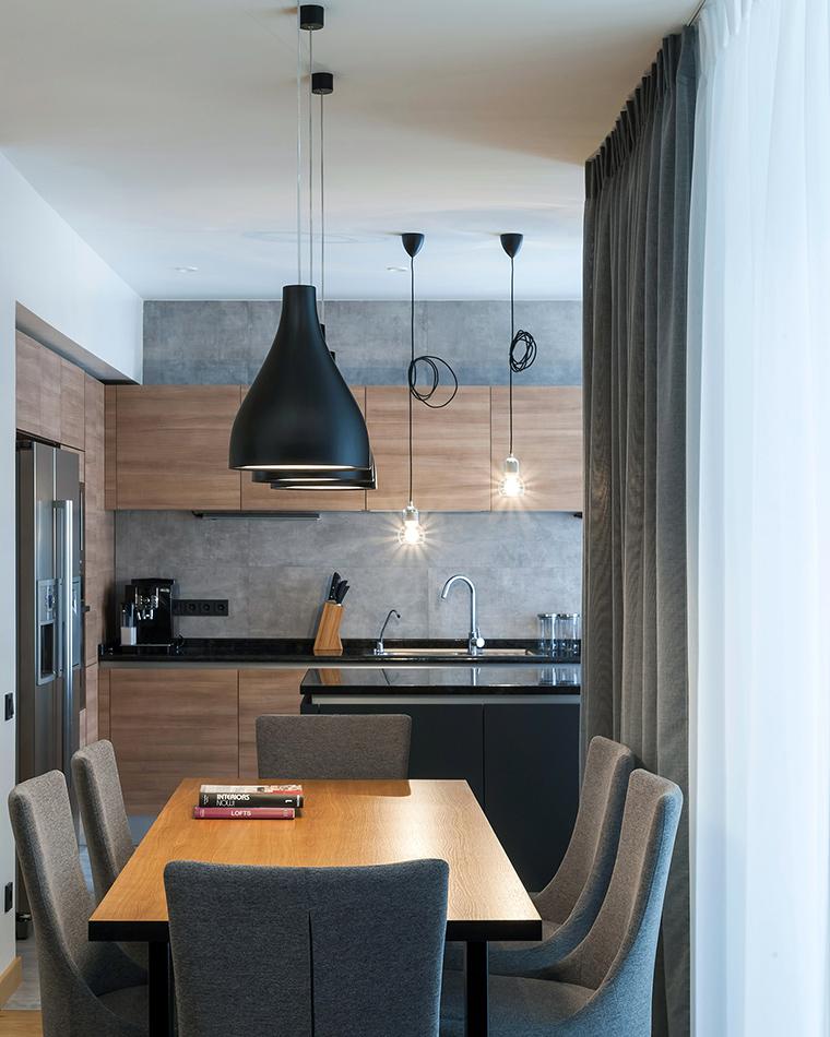 Фото № 58499 кухня  Квартира