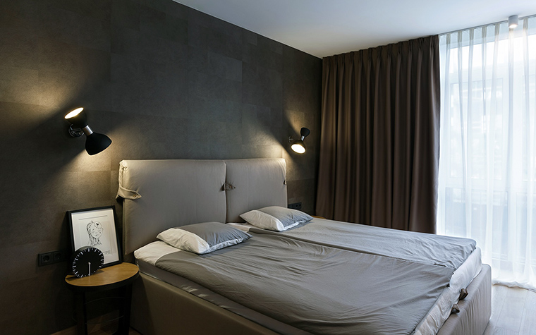 Квартира. спальня из проекта , фото №58504