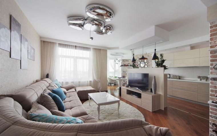 Квартира. гостиная из проекта , фото №58511