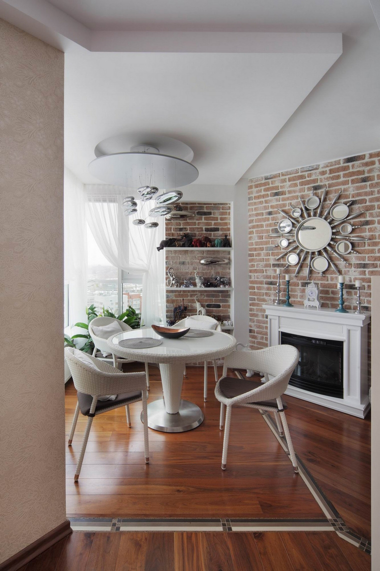 Квартира. столовая из проекта , фото №58521
