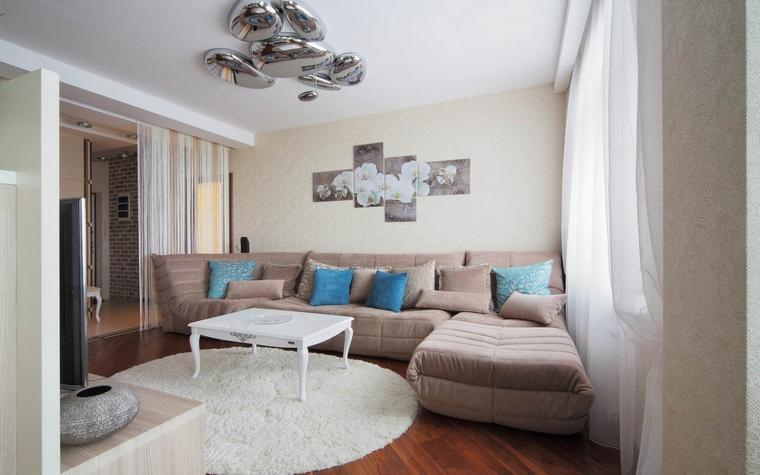 Квартира. гостиная из проекта , фото №58510
