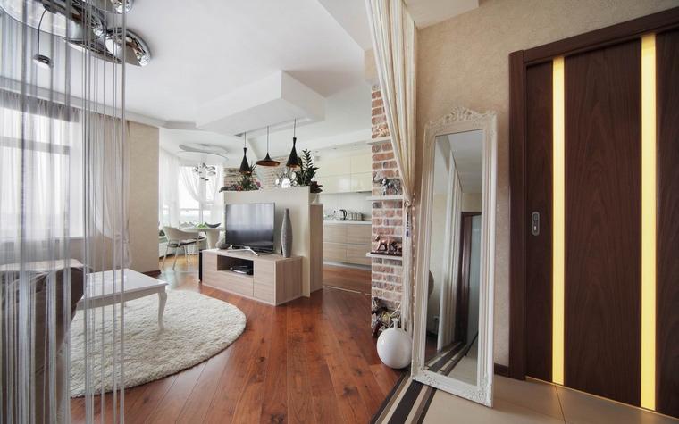 Квартира. гостиная из проекта , фото №58512