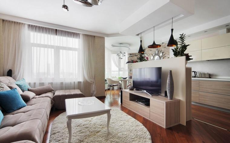 Квартира. гостиная из проекта , фото №58513
