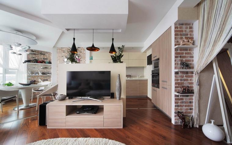 Квартира. гостиная из проекта , фото №58514