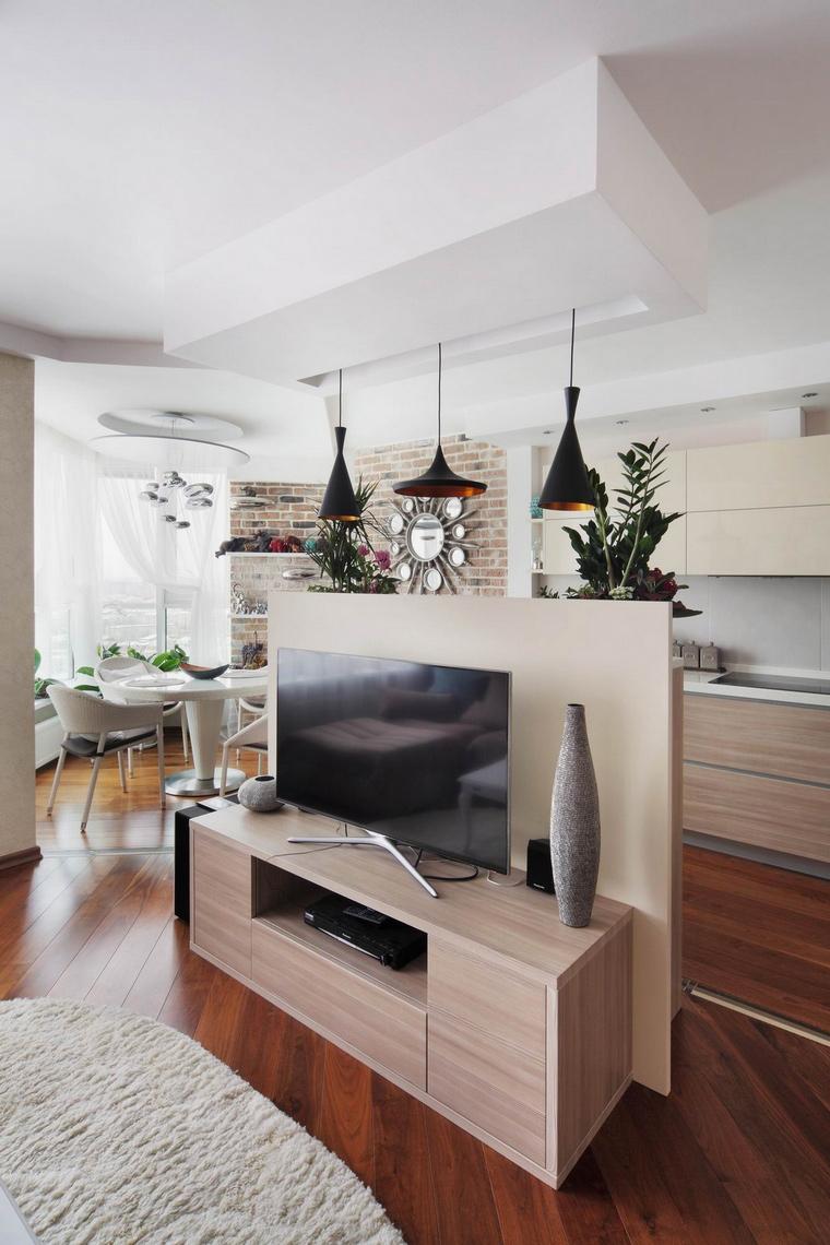 Квартира. гостиная из проекта , фото №58515