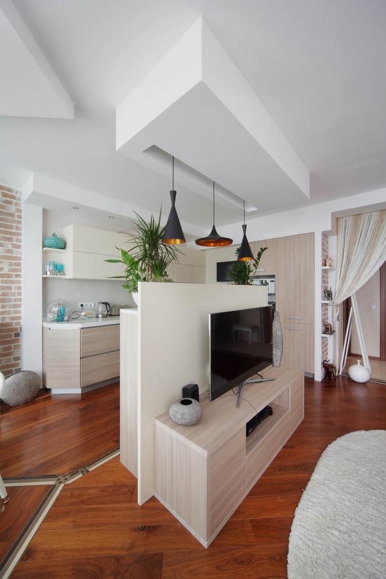Квартира. гостиная из проекта , фото №58516