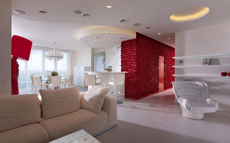 Фото № 58542 гостиная  Квартира