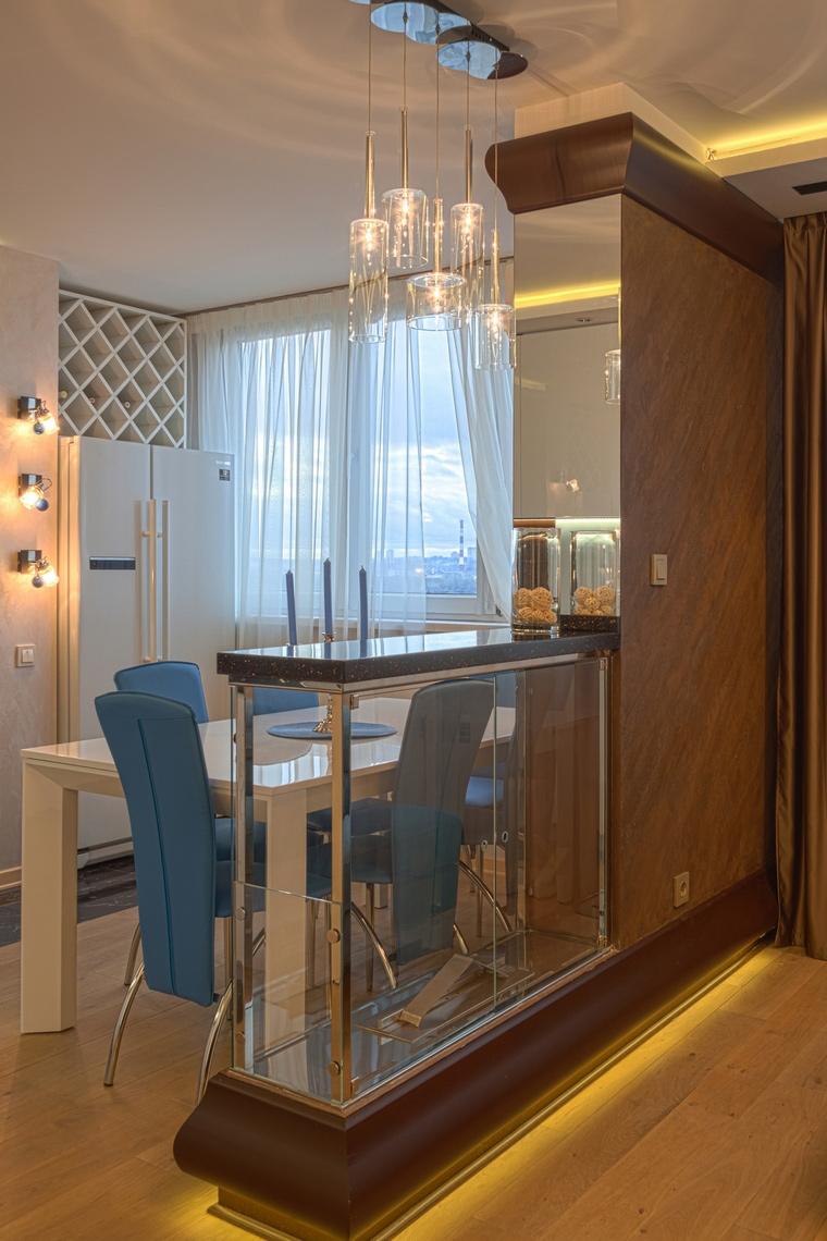 Фото № 58579 кухня  Квартира
