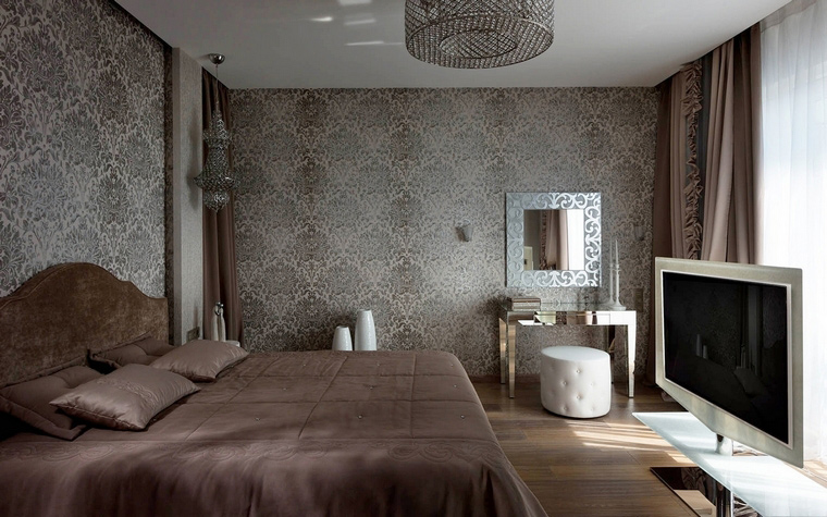 Фото № 58640 спальня  Квартира