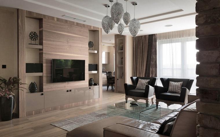 Квартира. гостиная из проекта , фото №58629