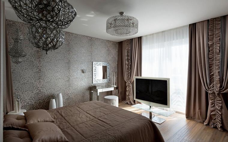 Квартира. спальня из проекта , фото №58641