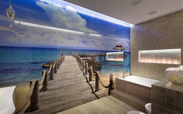 интерьер ванной - фото № 58646
