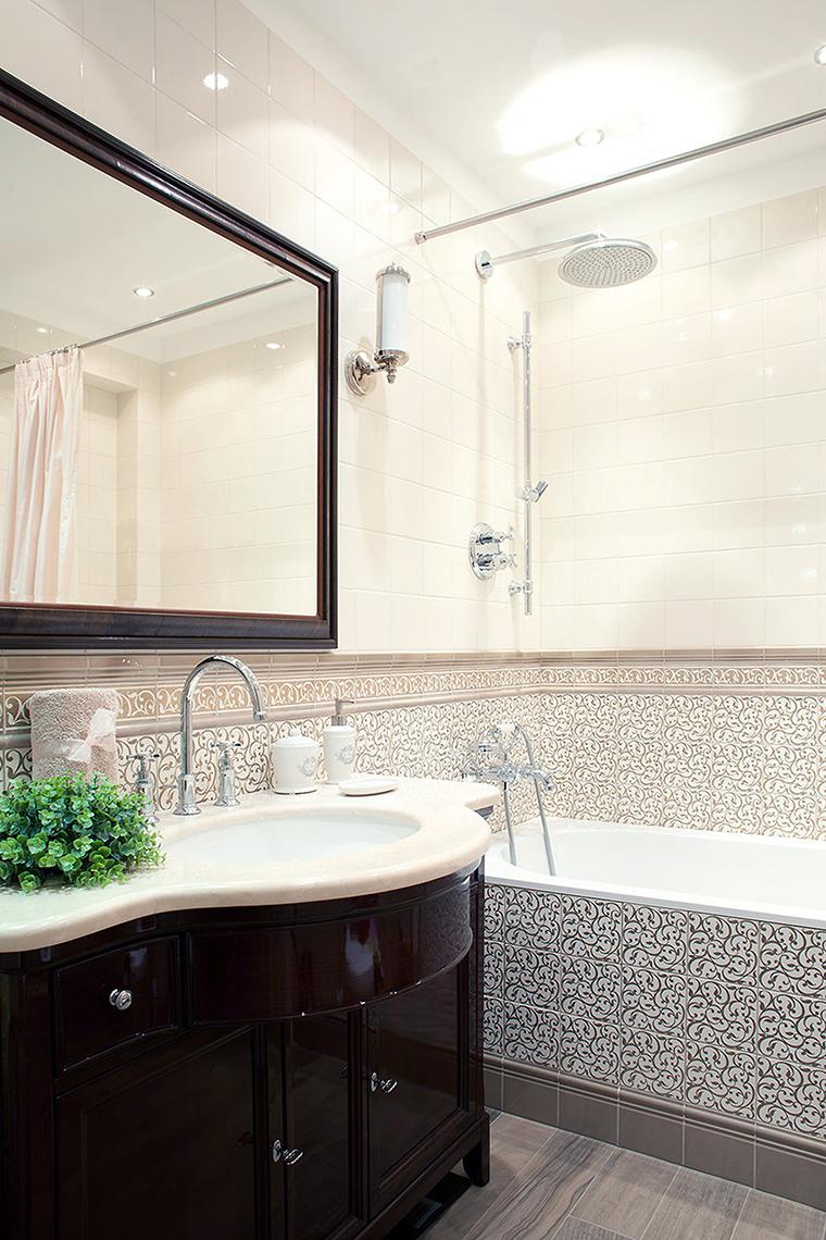 Квартира. ванная из проекта , фото №58648
