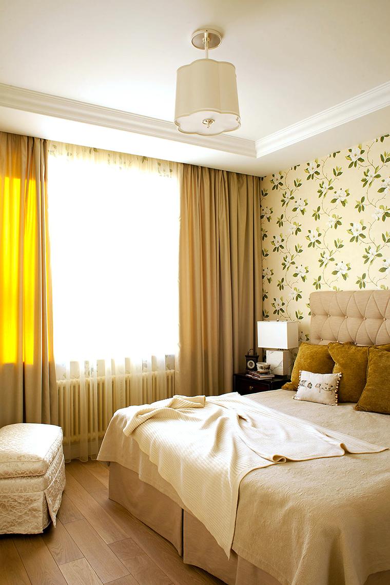 интерьер спальни - фото № 58649
