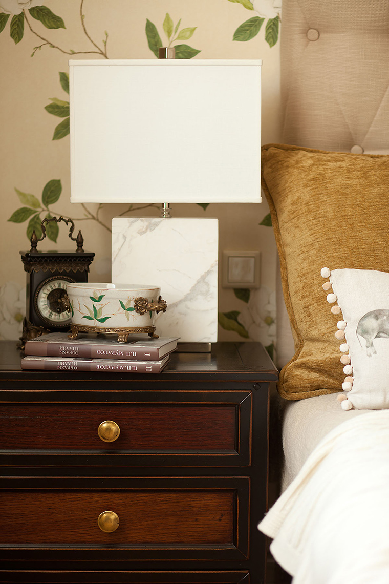 интерьер спальни - фото № 58652