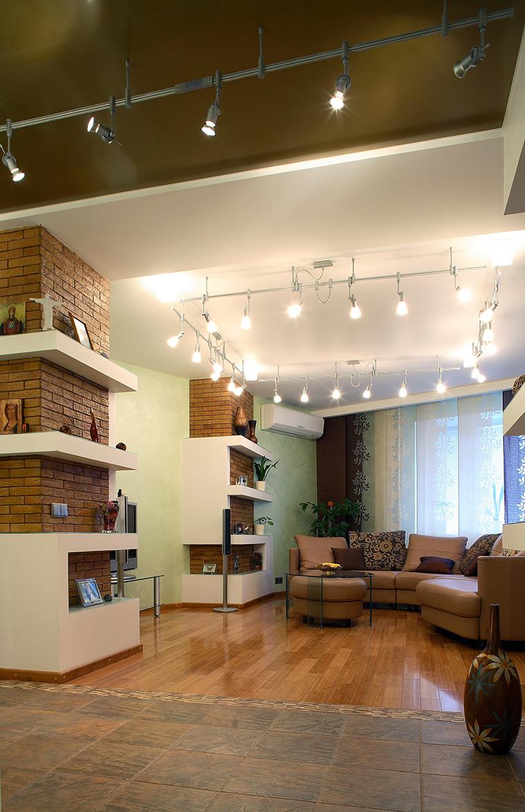 интерьер гостиной - фото № 58701