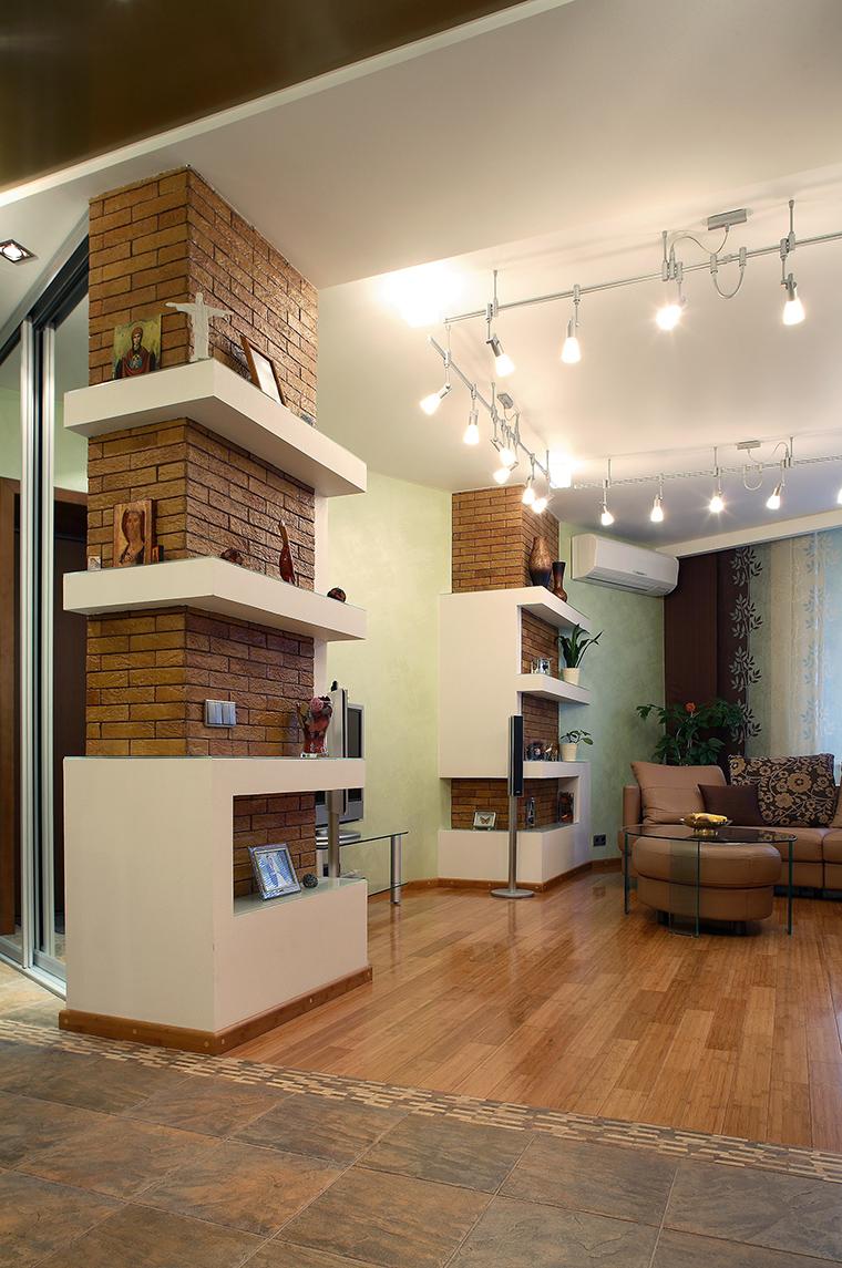 Фото № 58702 гостиная  Квартира