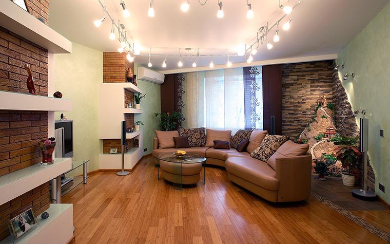 Фото № 58704 гостиная  Квартира