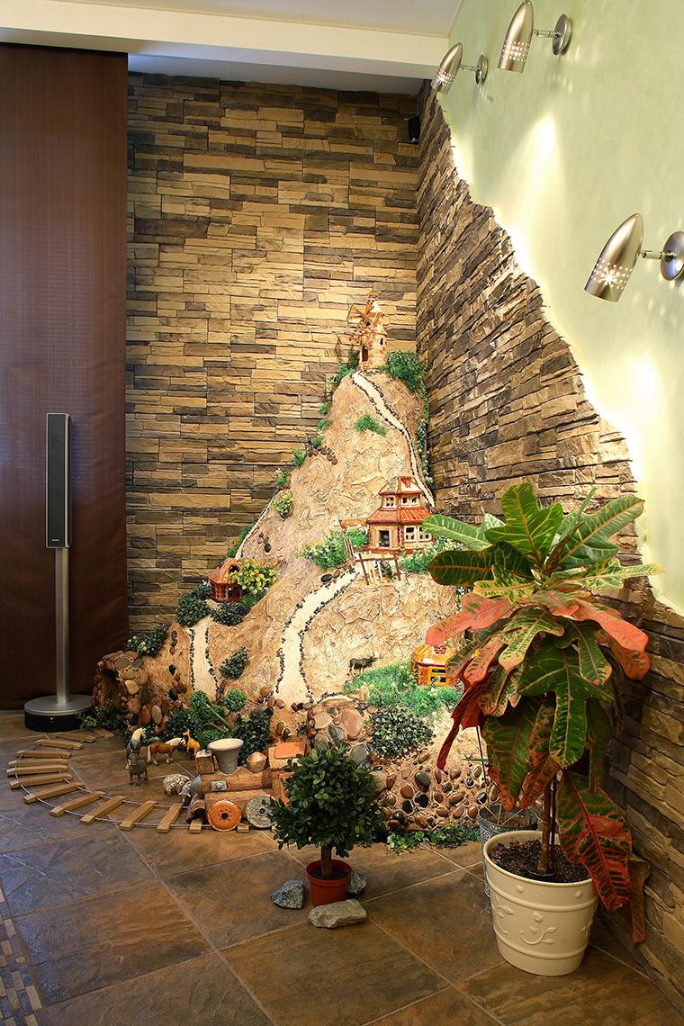 интерьер гостиной - фото № 58705