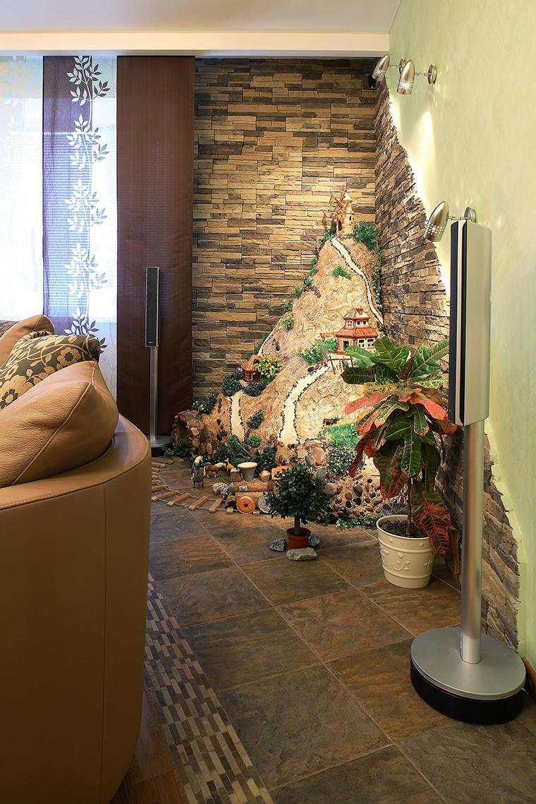 интерьер гостиной - фото № 58706