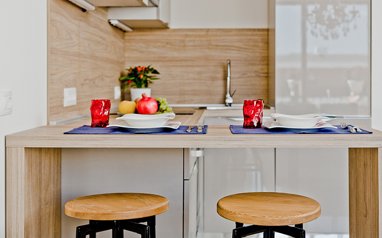 Фото № 58733 кухня  Квартира