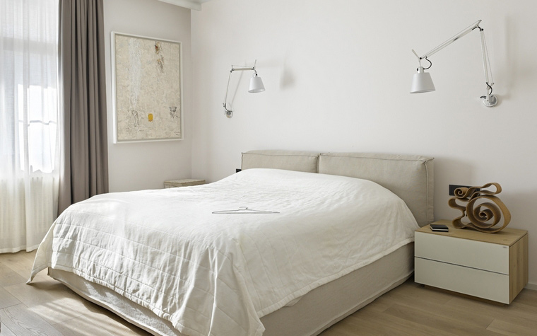 Квартира. спальня из проекта , фото №58766