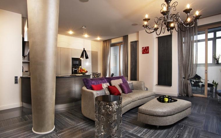 Фото № 58849 гостиная  Квартира