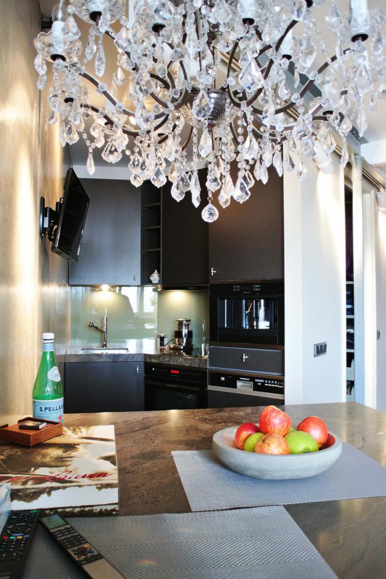 Квартира. кухня из проекта , фото №58896