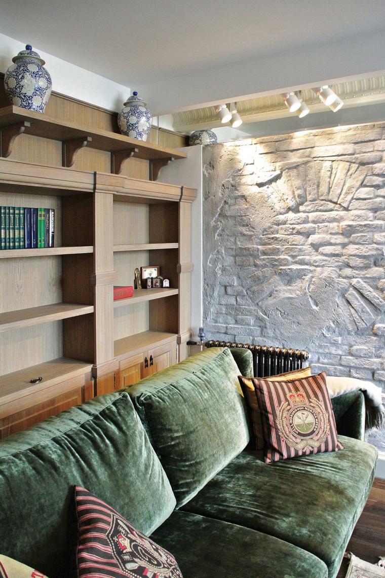 Квартира. гостиная из проекта , фото №58891