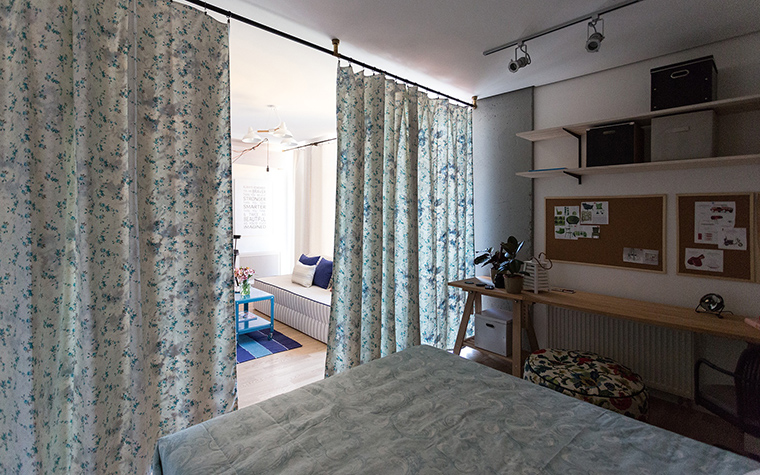 Квартира. спальня из проекта , фото №58913