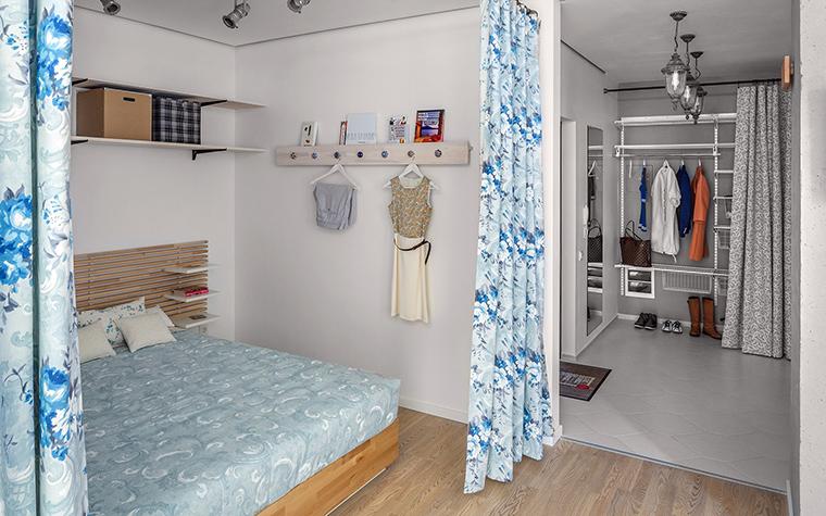 Квартира. спальня из проекта , фото №58915