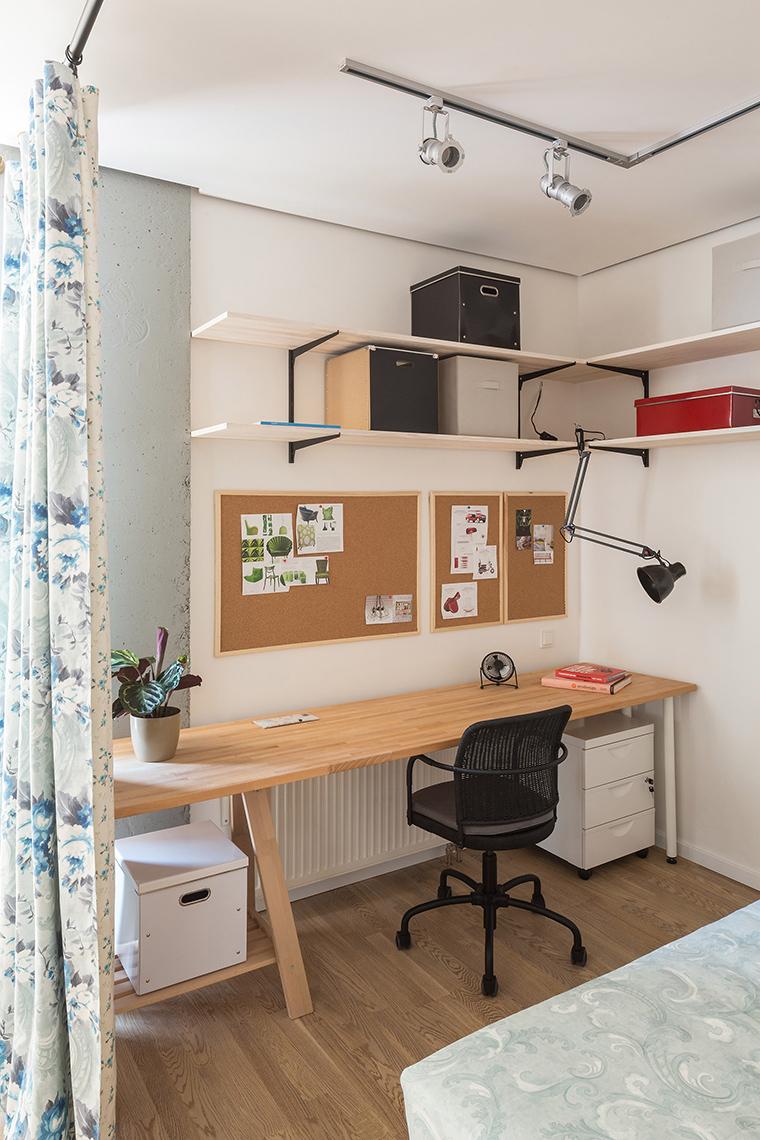 Квартира. спальня из проекта , фото №58910