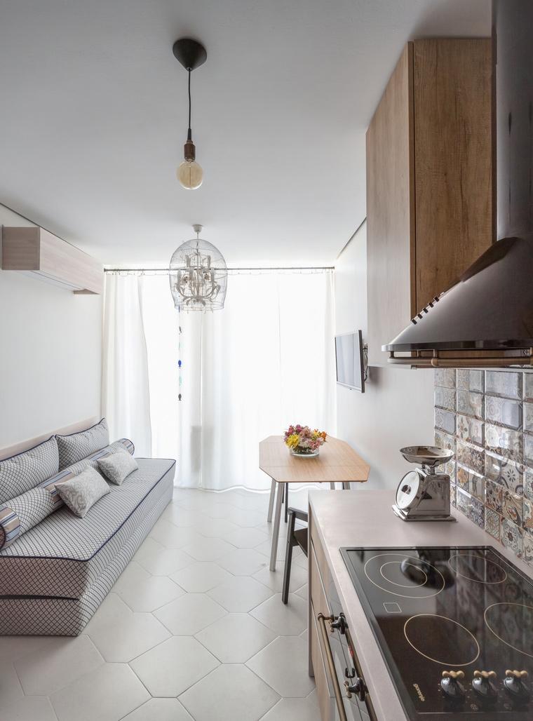 Квартира. кухня из проекта , фото №58955