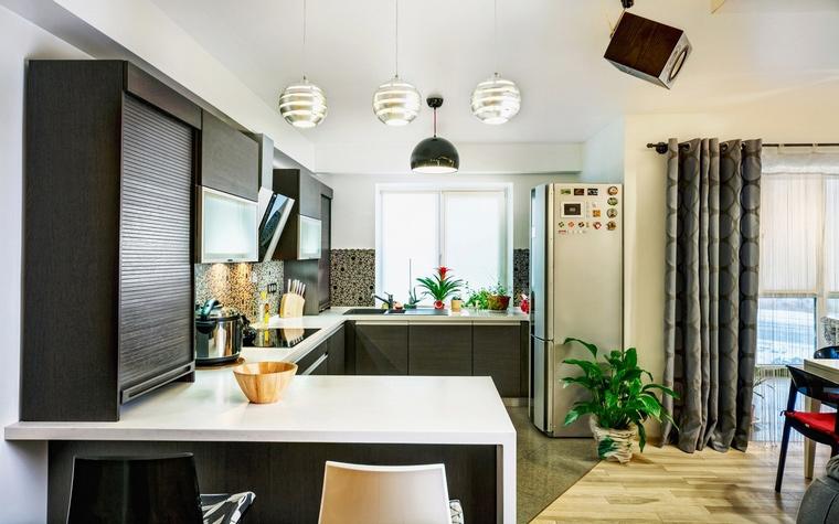 Квартира. кухня из проекта , фото №58982