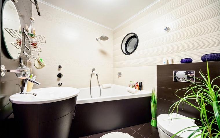 Квартира. ванная из проекта , фото №58983