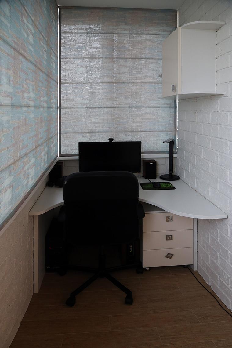 Квартира. кабинет из проекта , фото №59246
