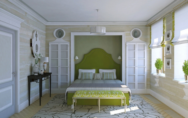 интерьер спальни - фото № 59271