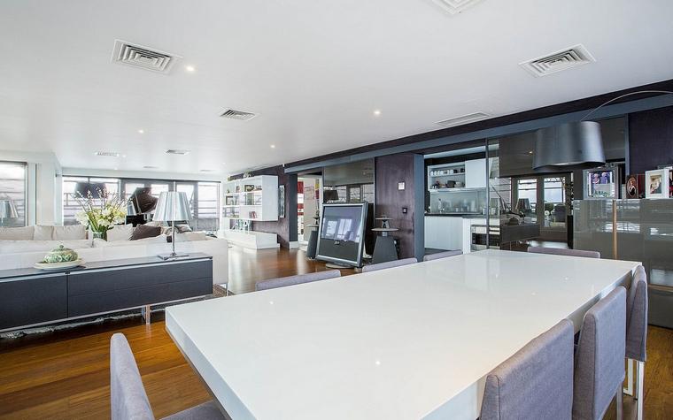 Квартира. столовая из проекта , фото №59332