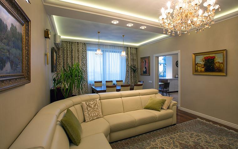 интерьер гостиной - фото № 59302