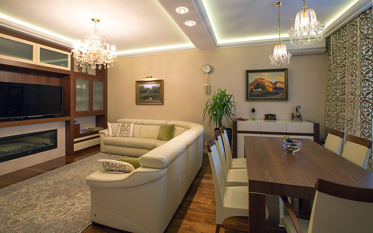 интерьер гостиной - фото № 59304