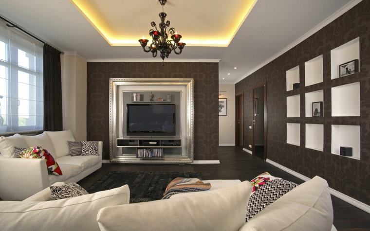 интерьер гостиной - фото № 59418