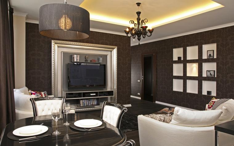 интерьер гостиной - фото № 59417