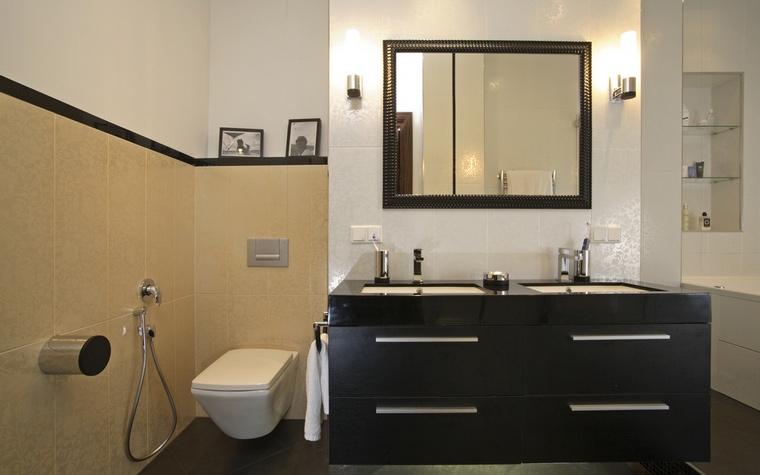Квартира. ванная из проекта , фото №59430