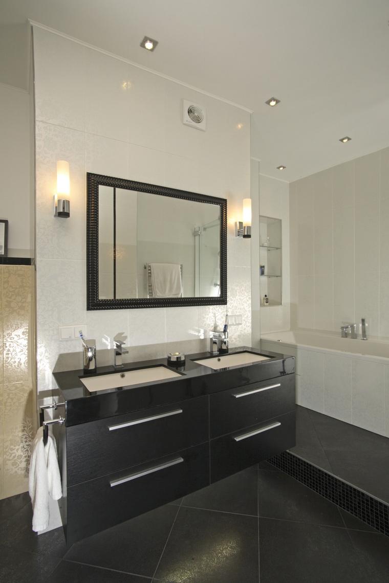 Квартира. ванная из проекта , фото №59431