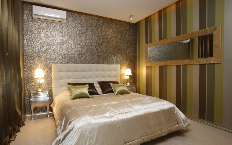 Квартира. спальня из проекта , фото №59427