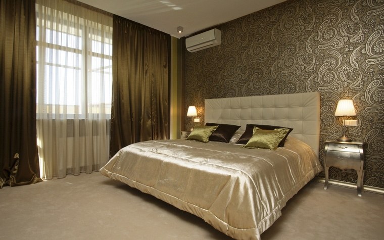Квартира. спальня из проекта , фото №59428
