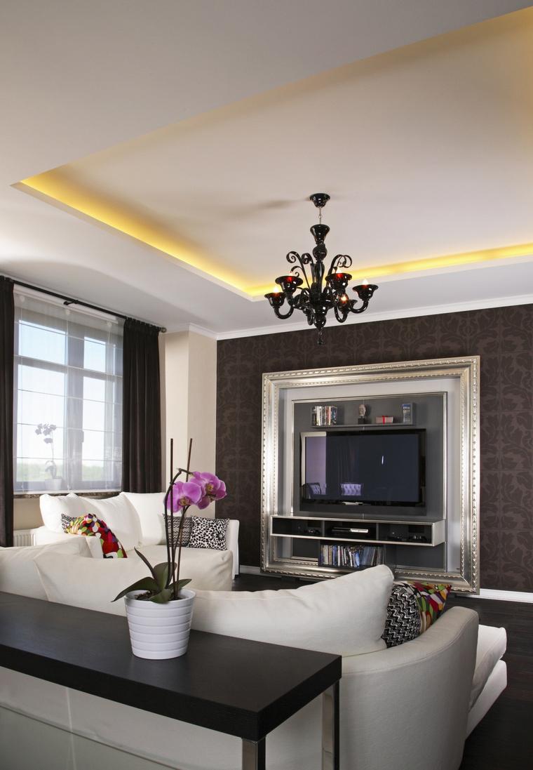 интерьер гостиной - фото № 59420