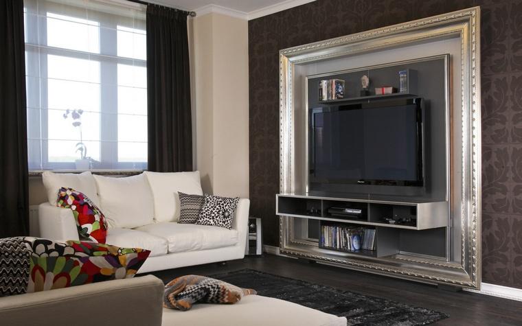 интерьер гостиной - фото № 59422