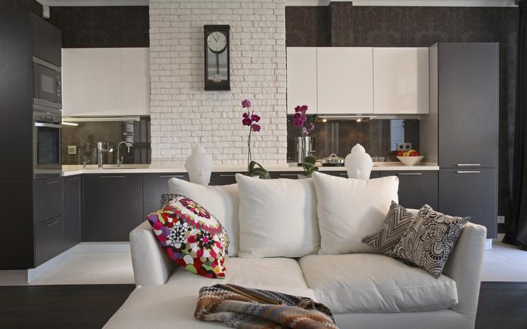 интерьер гостиной - фото № 59423